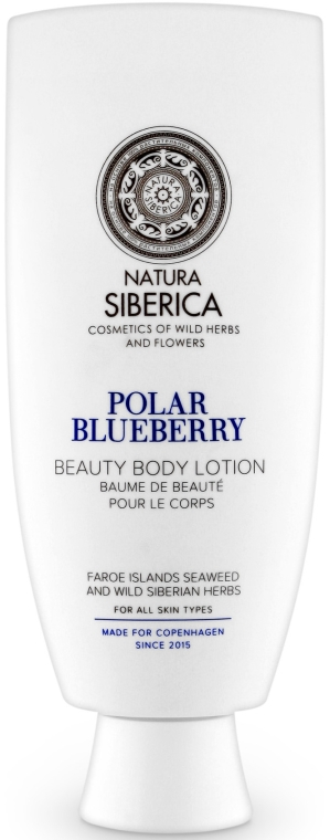 """Lozione corpo """"Mirtilli polari """" - Natura Siberica Copenhagen Polar Blueberry Beauty Body Lotion"""