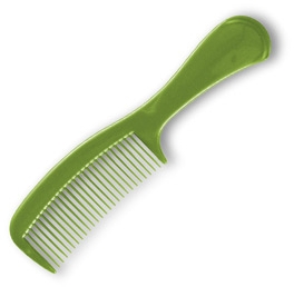 Pettine per capelli 60304, verde - Top Choice — foto N2