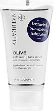 Profumi e cosmetici Peeling viso all'oliva - Naturativ Olive Exfolianting Face Scrub