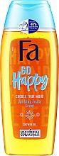 Profumi e cosmetici Gel doccia dall'aroma fruttato - Fa Go Happy Shower Gel