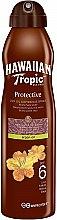 Profumi e cosmetici Spray-Olio secco - Hawaiian Tropic Protective Dry Oil Continuous Spray Aragan Oil SPF 6