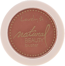 Profumi e cosmetici Blush compatto - Lovely Natural Beauty Blusher