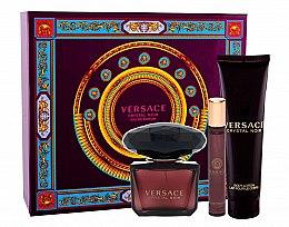 Profumi e cosmetici Versace Crystal Noir - Set (edp/90ml + b/lot/150ml + edt/10ml)