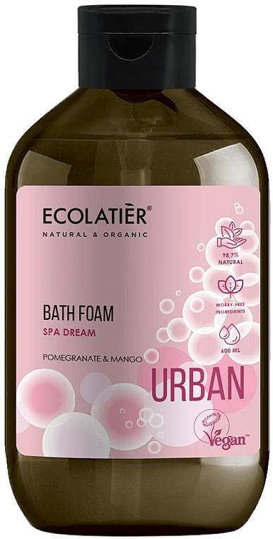 """Bagnoschiuma """"Melograno e mango"""" - Ecolatier Urban Bath Foam"""