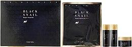 Profumi e cosmetici Set - Holika Holika Prime Youth Black Snail Skin Care Kit (mask + cr/18ml + tonic/31g + emulsion/31ml)