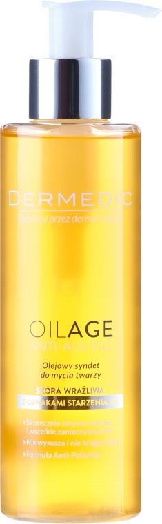 Olio detergente viso - Dermedic Oilage Face Cleansing Oil Syndet
