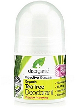 "Profumi e cosmetici Deodorante ""Tea tree"" - Dr. Organic Bioactive Skincare Tea Tree Roll-On Deodorant"