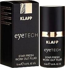 "Profumi e cosmetici Fluido per palpebre ""Star Fresh"" - Klapp Eyetech Star Fresh Work Out Fluid"