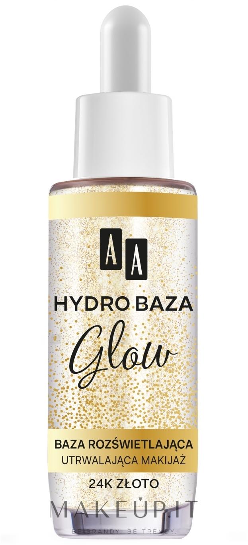 Base trucco illuminante - AA Hydro Baza Glow — foto 30 ml