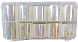 Profumi e cosmetici Set di fogli di stagnola per unghie, 10 pz. - Deni Carte