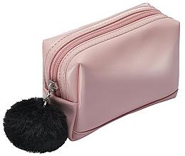 Profumi e cosmetici Beauty case con pompon nero - Avon
