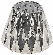 Profumi e cosmetici Paralume per candela media - WoodWick Geometric Silver Shade