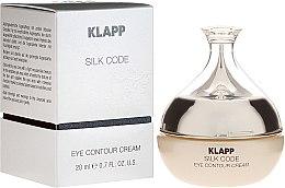 Profumi e cosmetici Crema per pelle matura - Klapp Silk Code Eye Contour Cream