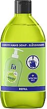 """Profumi e cosmetici Sapone liquido """"Purezza e freschezza. Lime e zenzero"""" - Fa Hygiene & Freshness Ginger And Lime Liquid Soap (ricarica)"""