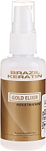 Profumi e cosmetici Trattamento capelli - Brazil Keratin Gold Elixir Repair Treatment