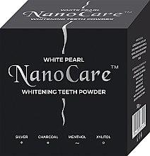 Profumi e cosmetici Polvere per lo sbiancamento dei denti - VitalCare White Pearl NanoCare Charcoal Teeth Powder