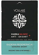 Profumi e cosmetici Maschera rigenerante da notte - Vollare Anti-Oxidant Sleeping Mask