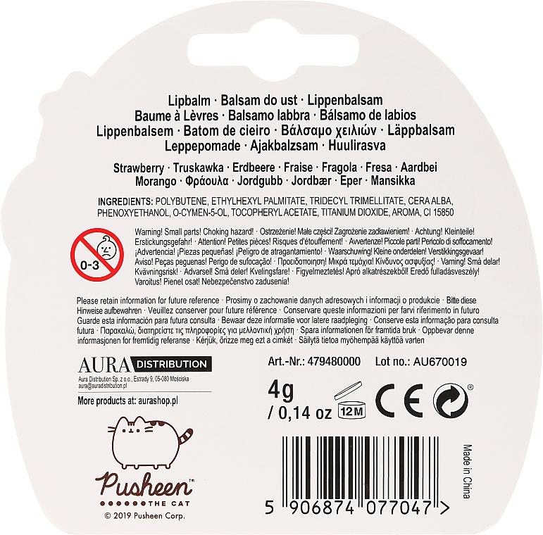 Balsamo labbra - The Beauty Care Company Pusheen Lip Balm — foto N2