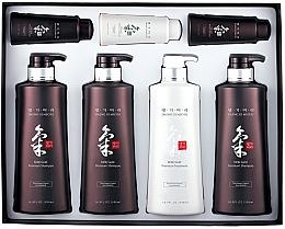 Profumi e cosmetici Set - Daeng Gi Meo Ri Ki Gold Hair Care Set (shm/500ml + shm/500ml + shm/500ml + cond/500ml + shm/70ml + shm/70ml + cond/70ml)
