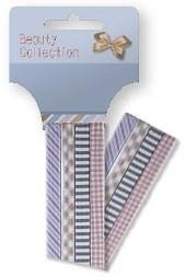 """Fasce elastiche per capelli """"Collezione Beauty"""", multicolore, 27390 - Top Choice"""