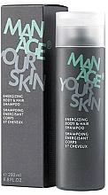 Profumi e cosmetici Shampoo-gel per corpo e capelli - Dr. Spiller Manage Your Skin Energizing Body & Hair Shampoo