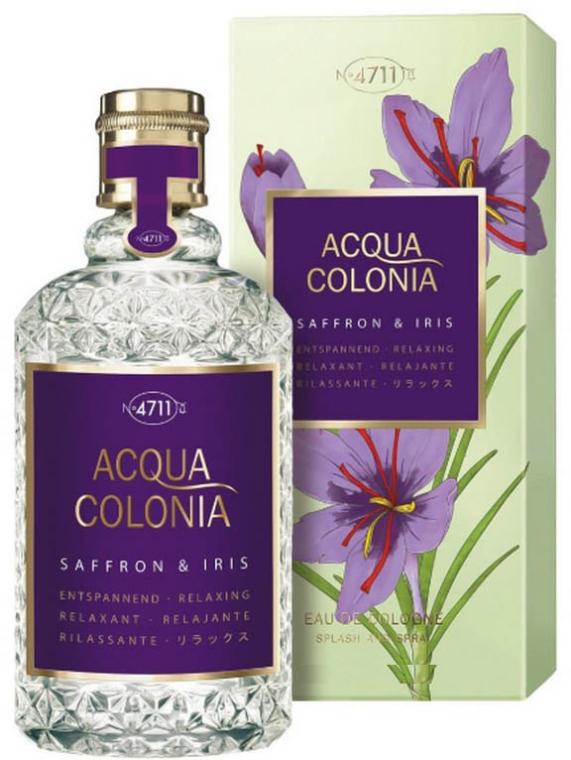 Maurer & Wirtz 4711 Acqua Colonia Saffron & Iris - Colonia