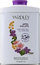Profumi e cosmetici Yardley April Violets - Talco profumato