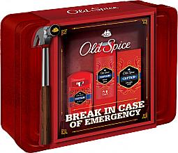 Profumi e cosmetici Set - Old Spice Captain Grooming Tin (deo/50g + sh/gel/250ml + ash/lot/100ml)