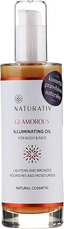 Olio corpo - Naturativ Glittering Body Oil