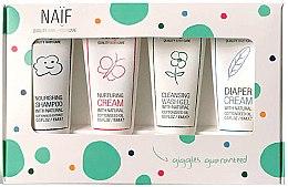 Profumi e cosmetici Set - Naif Baby Kit (sh/15ml + cr/15ml + cr/15ml + sh/gel/15ml)