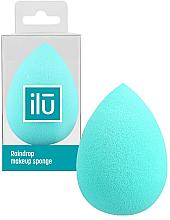 Profumi e cosmetici Spugna trucco, goccia, turchese - Ilu Sponge Raindrop Turquoise