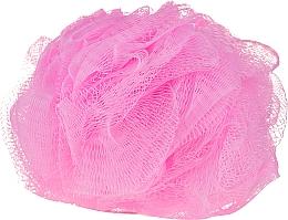 Profumi e cosmetici Spugna da bagno, rosa - IDC Institute Design Mesh Pouf Bath Sponges