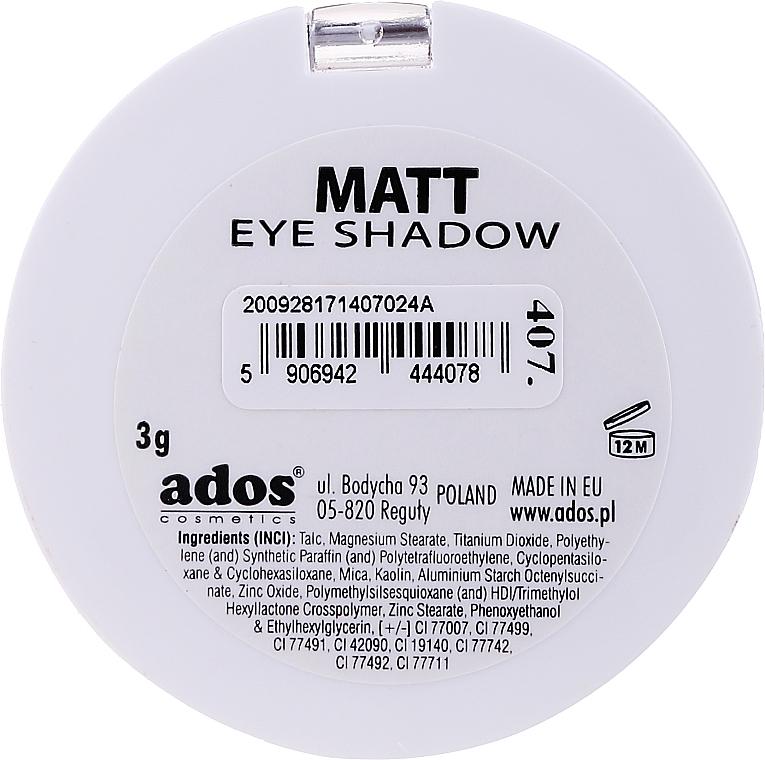 Ombretto opaco - Ados Matt Effect Eye Shadow — foto N4
