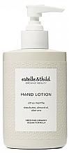 Profumi e cosmetici Lozione mani - Estelle & Thild Citrus Menthe Hand Lotion