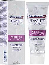 Profumi e cosmetici Dentifricio Whitening Accelerator - Blend-a-med 3D White Luxe Whitening Accelerator