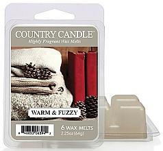 Profumi e cosmetici Cera per lampada aromatica - Country Candle Warm and Fuzzy Wax Melts