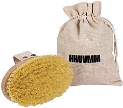 Profumi e cosmetici Spazzola per massaggio corpo con fibra di tampico - Hhuumm № 1