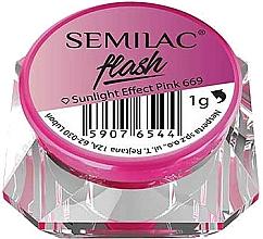Profumi e cosmetici Polvere per unghie - Semilac Flash Sunlight Effect