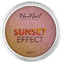 "Profumi e cosmetici Glitter per unghie ""Sunset"" - NeoNail Professional Sunset Effect"
