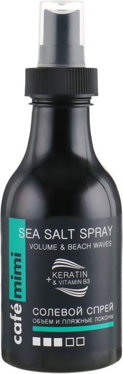 Spray per capelli - Cafe Mimi Sea Salt Spray Volume & Beach Waves