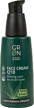 Profumi e cosmetici Crema viso - GRN Gentlemen's Organic Q10 Hemp & Hop Face Cream