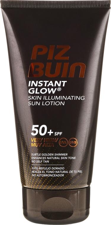 Lozione corpo - Piz Buin Instant Glow Sun Lotion 50+ SPF