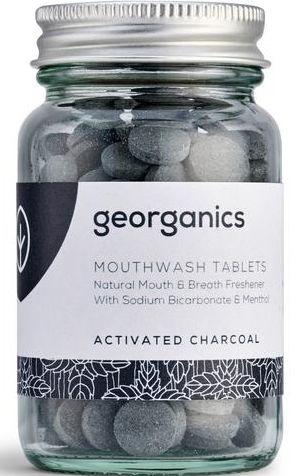 "Compresse di colluttorio ""Carbone attivo"" - Georganics Mouthwash Tablets Activated Charcoal"