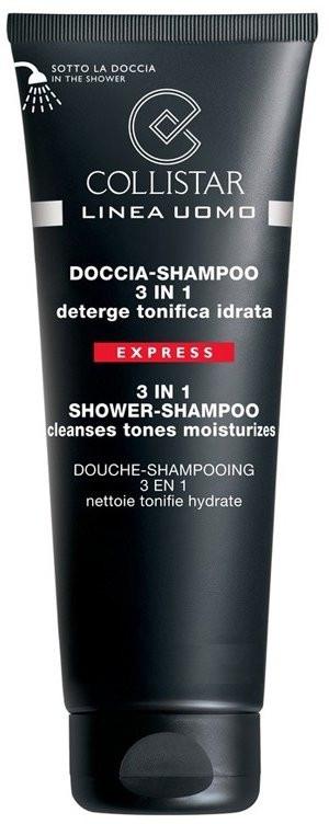Shampoo doccia per uomo 3in1 - Collistar Linea Uomo Doccia-shampoo 3 in 1 — foto N1