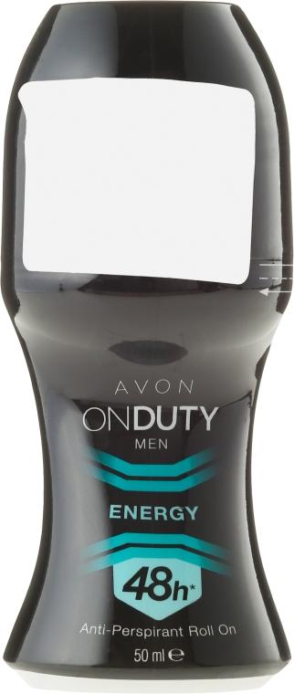 Deodorante antitraspirante - Avon On Duty Men Energy Antiperspirant Roll-On — foto N3
