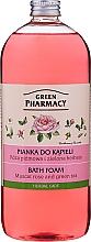 """Profumi e cosmetici Schiuma da bagno """"Moscato rosa e tè verde"""" - Green Pharmacy"""