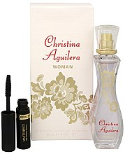 Profumi e cosmetici Christina Aguilera Woman - Set (edp/30ml + mascara/5.3ml)