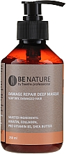 Profumi e cosmetici Maschera per capelli concentrata - Beetre Be Nature Damage Repair Deep Masque