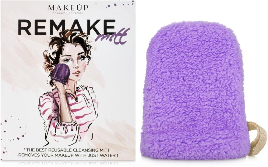 "Guanto struccante, lilla""ReMake"" - MakeUp"