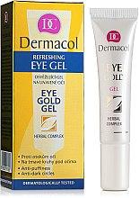 Profumi e cosmetici Gel contorno occhi - Dermacol Eye Gold Gel